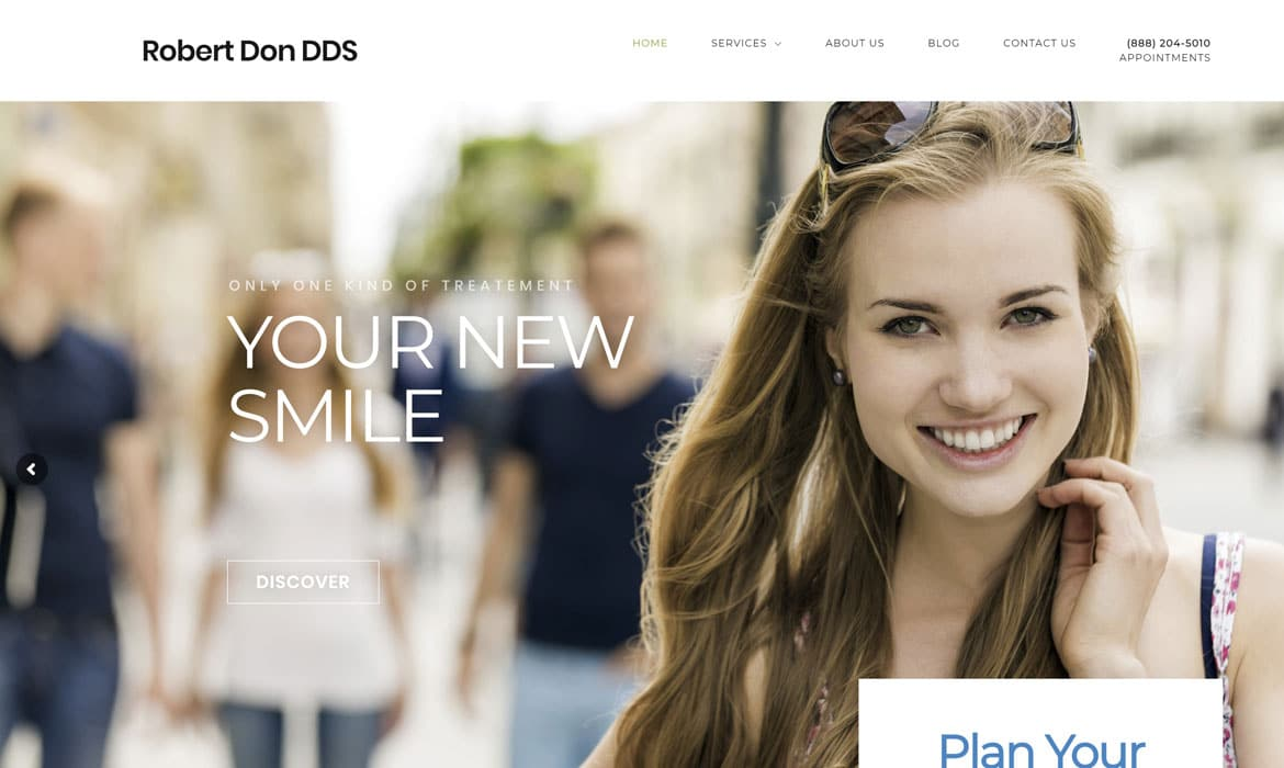 Dental Marketing Dentist Website Design