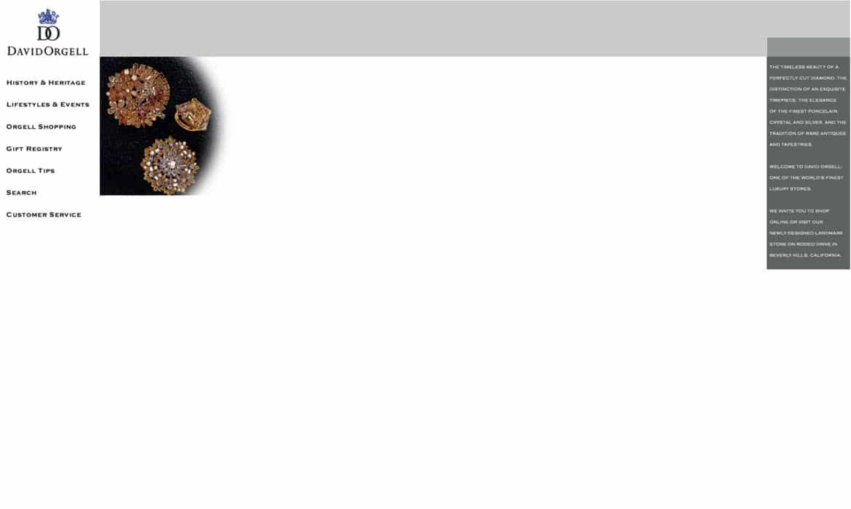 jewelry website design marketing