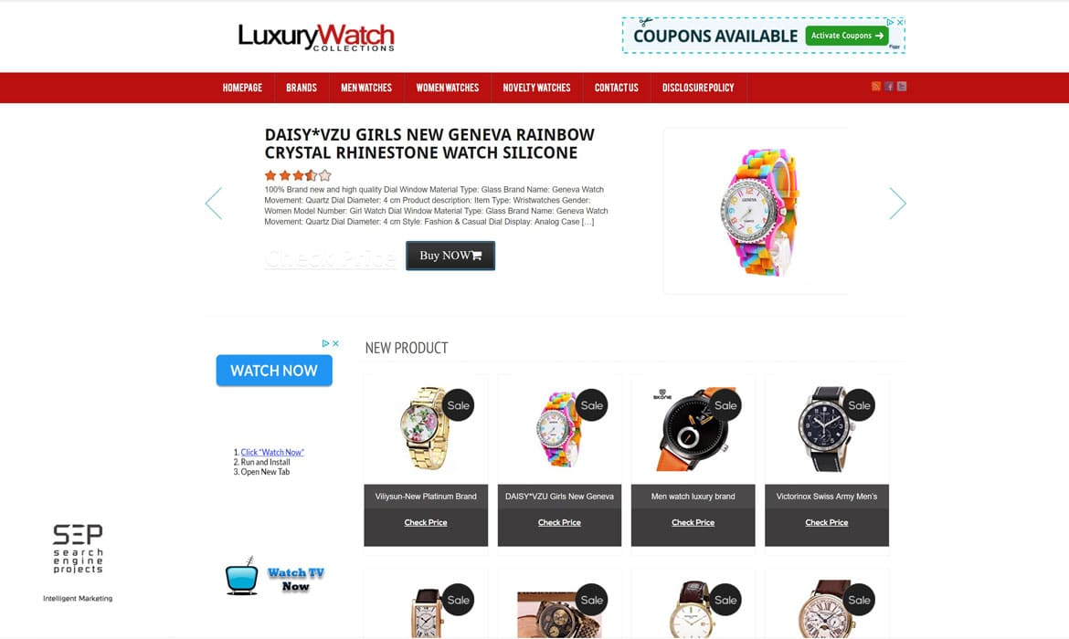 luxury watch collections marketing