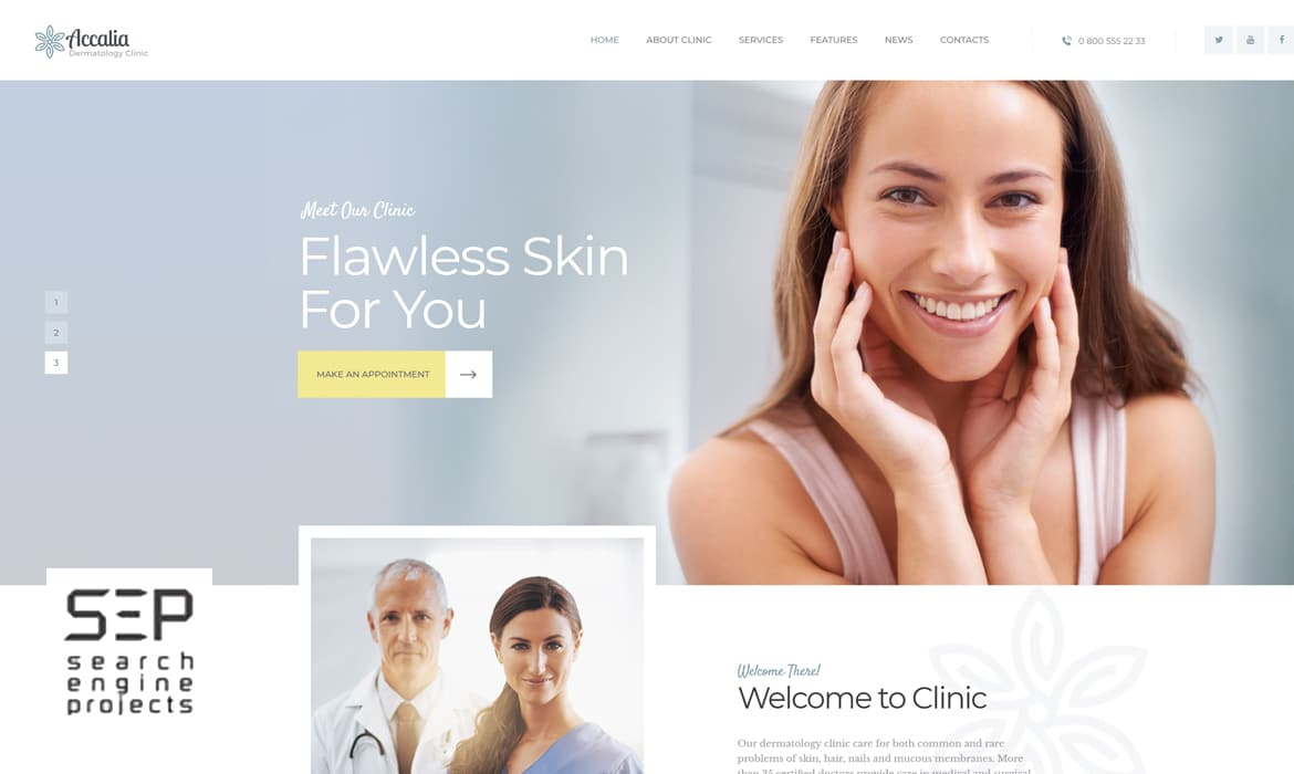 Plastic Surgery Marketing and Web Site Designing