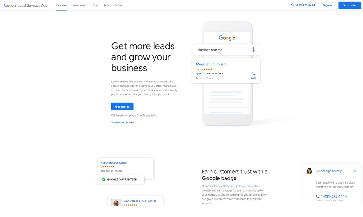 Google Local Services Ads for Plumbers