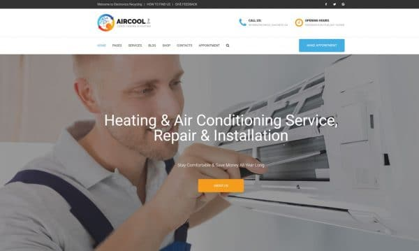 HVAC Marketing HVAC Website